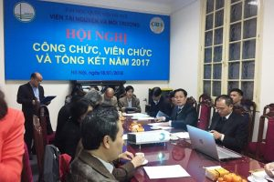 Cental Institute of Natural Resources and Environment meeting in 2017