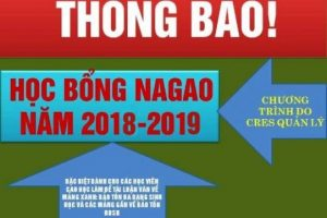 Announcement of the NAGAO Scholarship Program in Vietnam for the 2018-2019
